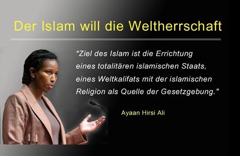 Ayaan Hirsi Ali: Europa ist nicht unbesiegbar Der-islam-will-die-weltherrschaft