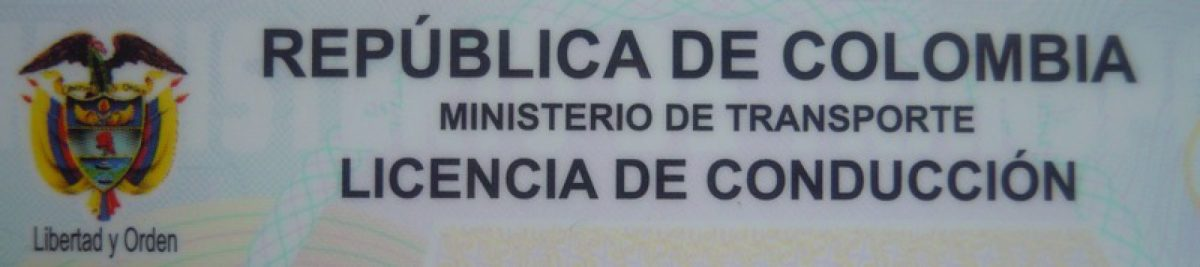 I Got My Colombian Drivers License