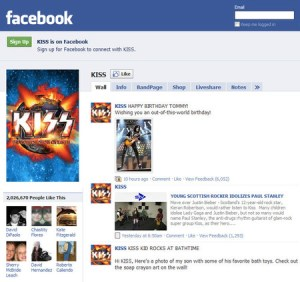 KISS on Facebook