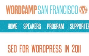 Wordcamp San Francisco SEO for WordPress