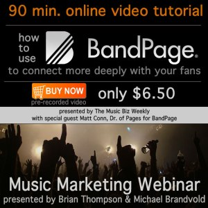 How to use BandPage to connect with your fans on Facebook