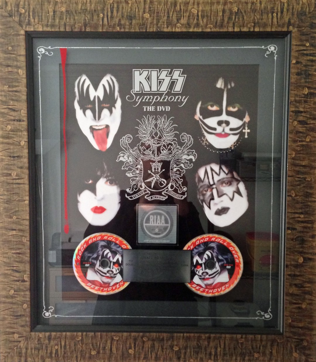 KISS Symphony The DVD RIAA Award