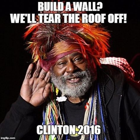 They still call it the White House, but that's a temporary condition, too. #georgeclinton