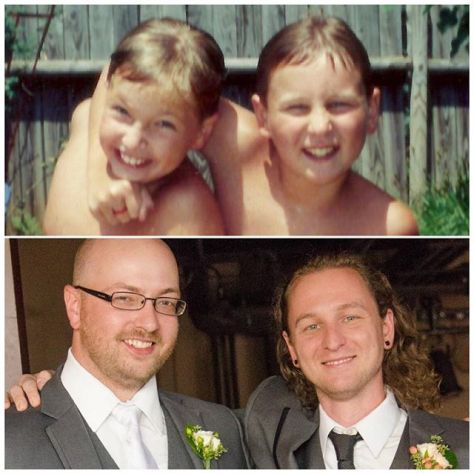 Few people are so lucky to have a friendship endure 30 years and counting. I'm honored to return the favor paid to me three years ago and  serve as the best man at @bretwp's wedding this weekend!