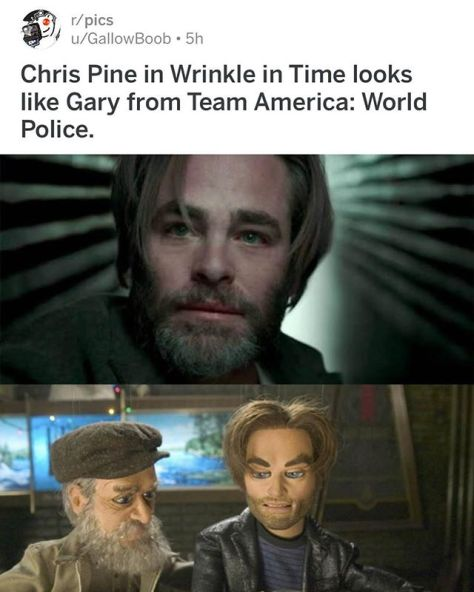 ok internet you win today. #awrinkleintime #teamamerica