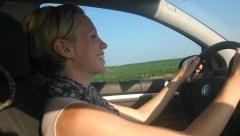 Katie Driving