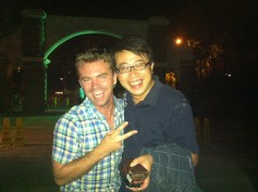 First friend in Zibo, Shandong, China.
