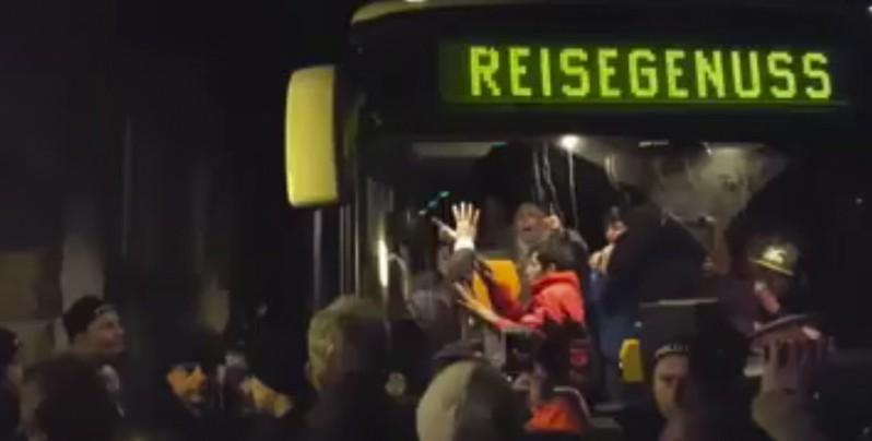 Ankunft in Clausnitz screenshot /youtube