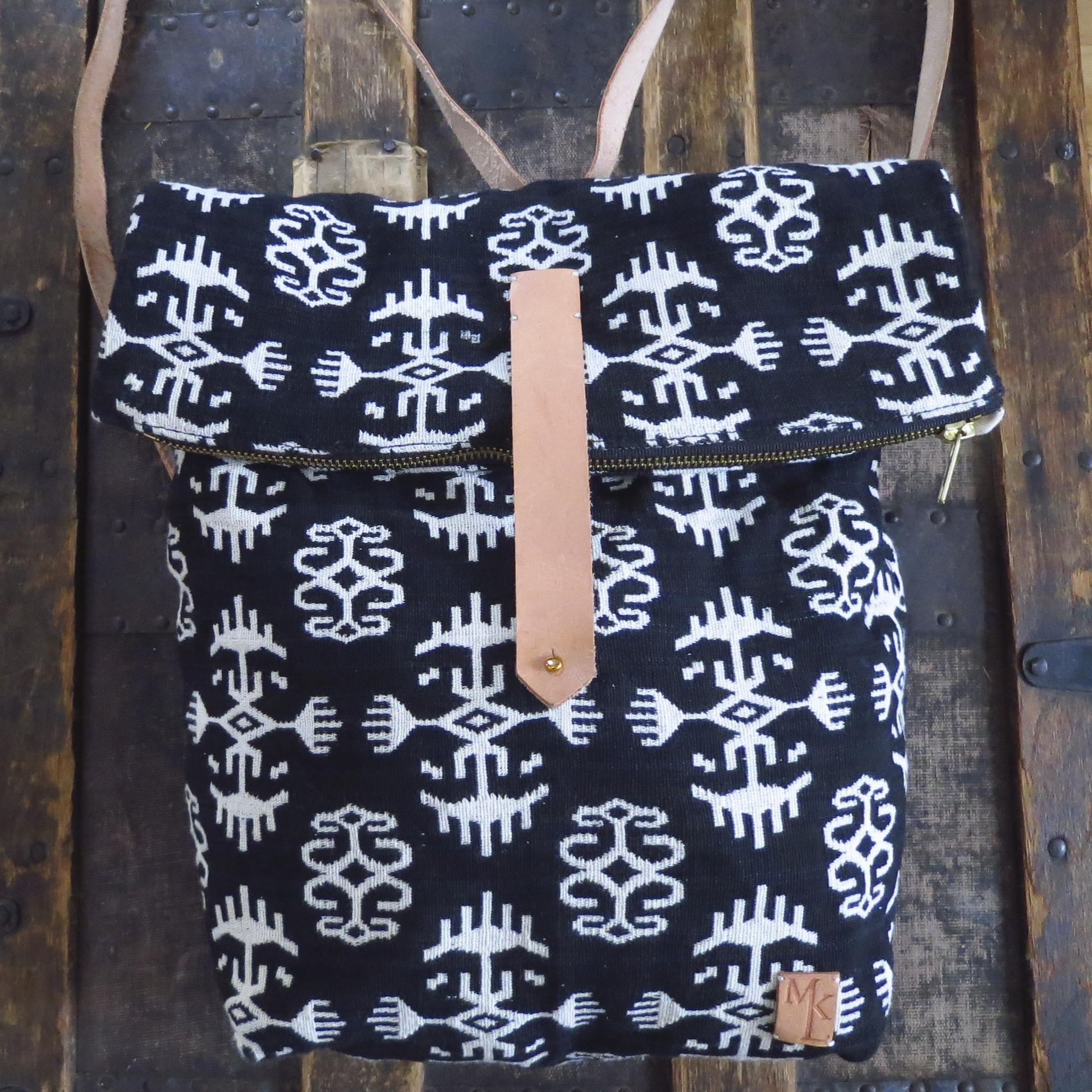 Zippered Foldover Backpack – $135