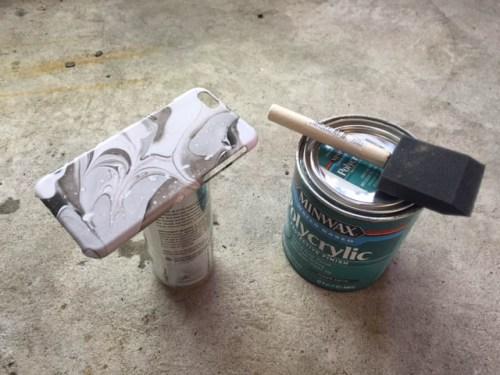 michelle liebmann michelleklare mkl nail polish marble phone case