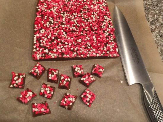 mkl michelleklare salted caramels valentines day diy sprinkles