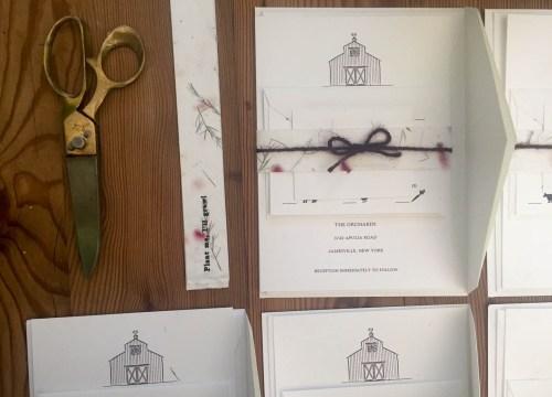 michelleklare michelle liebmann wedding invitation diy