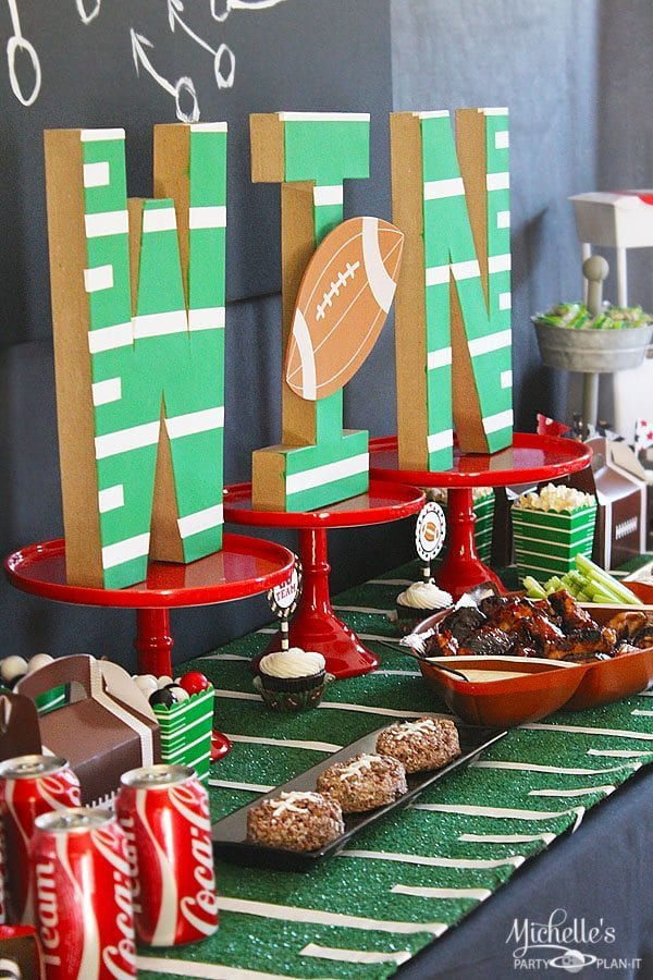Football party ideas and tailgating tips free printables