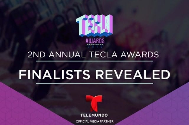 I'm a Finalist for the 2nd Annual Tecla Awards!