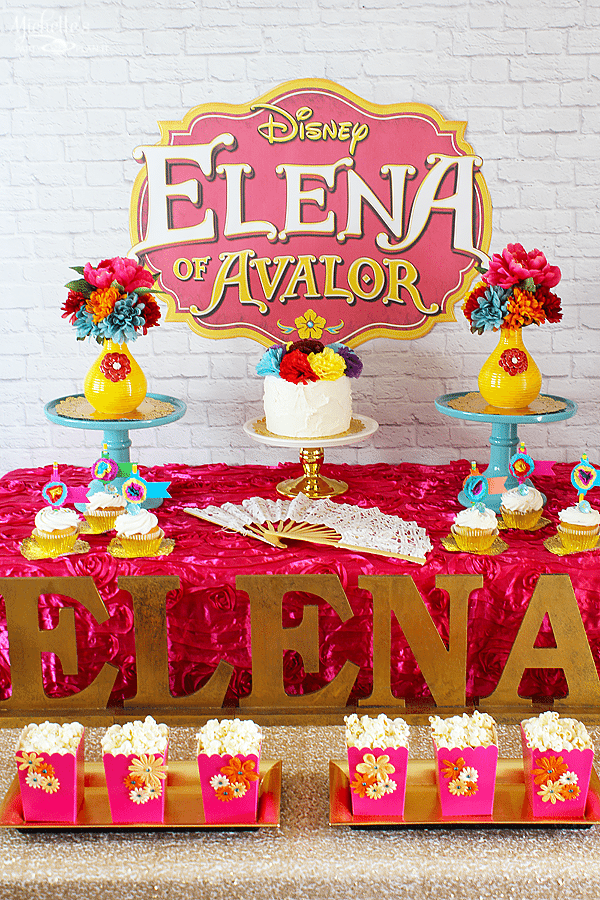 Princess Elena of Avalor Party Ideas #ElenaofAvalor