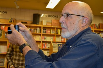 Don Mitchell, the other half of Saddle Road Press, is never without his camera. He's the one responsible for creating all of the beautiful covers for our books.
