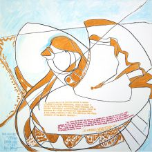 Bright Earth Bird Of Emerging Human Unity', The Meaning Of The Meaning Triptych #2