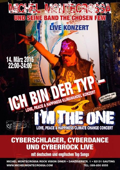 Michel Montecrossa's Ich bin der Typ – I'm The One Concert