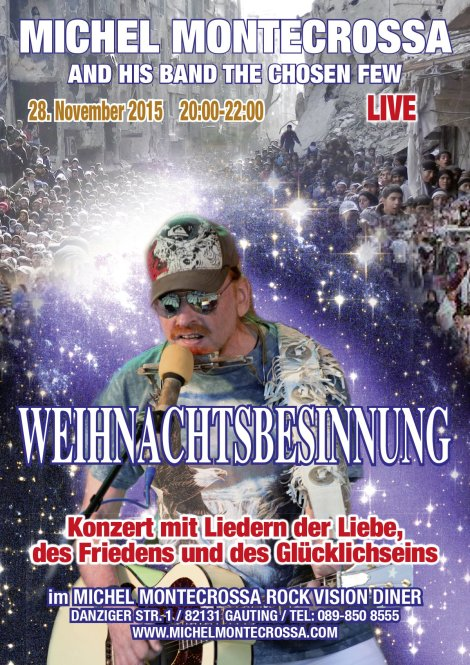'Weihnachtsbesinnung (Christmas Reflections)' Acoustic & Electric Concert