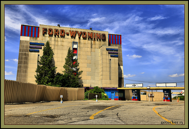 ford wyoming drive in theater in dearborn michigan in pictures. Cars Review. Best American Auto & Cars Review