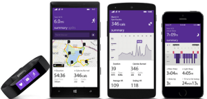 Microsoft Band et les applications mobiles