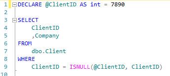 ISNULL - ISNULL Code