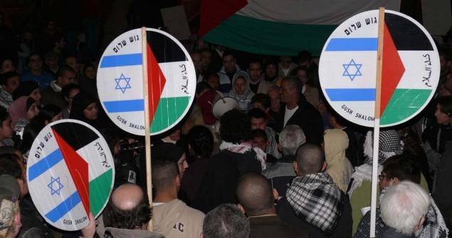 Israelis-Palestinians-protest
