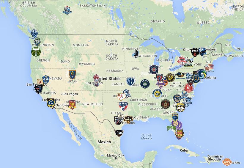 NASL, USL, MLS & CanPL Expansion News & Rumors Tracker - July 2016 Edition