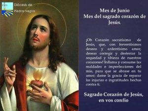 MES DE JUNIO, MES DE SAGRADO CORAZÓN DE JESÚS