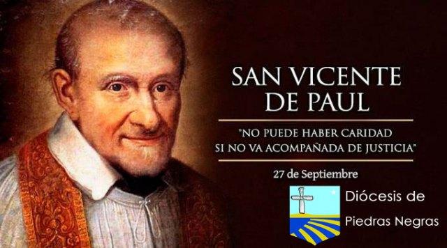 Hoy celebramos a San Vicente de Paul, patrono de las obras de caridad