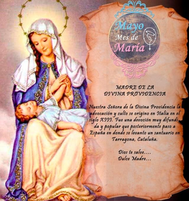 MES DE MAYO MES DE MARÍA DÍA 24