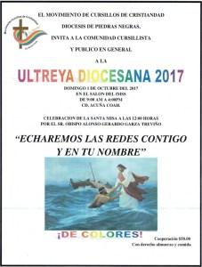 ULTREYA DIOCESANA 2017