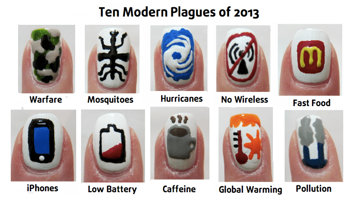 Ten Modern Plagues - MidrashManicures.com