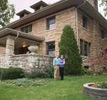 Martin and Kelly Hackleman's home is one this year's Hyde Park homes tour.