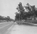 Armour Boulevard looking east from Campbell, 1911.