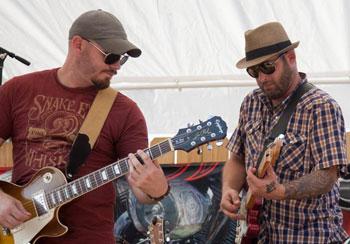 Matt Breit and Ryan Wisner of the band Interstate 49.