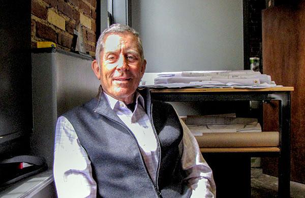 Developer John Hoffman is restoring properties in Midtown.