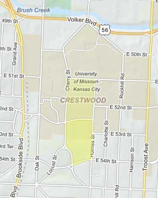 when jc nichols developed the crestwood neighborhood beginning in 1919 it was advertised as a garden home district the neighborhood offered large lots