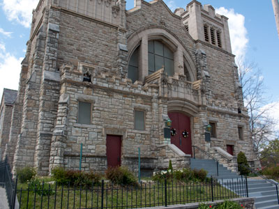The cornerstone for St. Mark's Lutheran Church was laid in 1914 and the church expanded its parsonage and sanctuary in 1924.