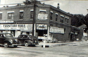 A business at the corner of Troost and 37th in 1940.