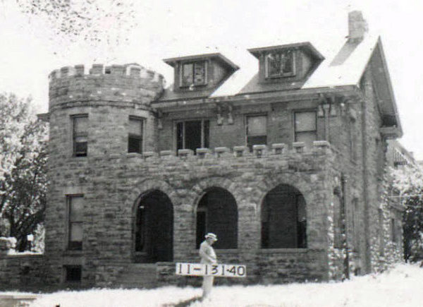 The unique stone house at the corner of Pennsylvania Avenue and Valentine Road is now called The Writer's Place. Built as a home in the early 1900s, the house became a church in 1954. Much of the property on the east side of Pennsylvania was once owned by Nellie G. Nelson, the daughter of Kansas City pioneer A.B. H. Mcgee.