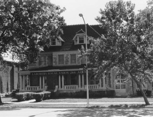The former Fowler residence in 1969.