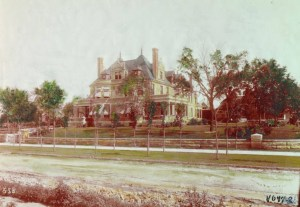 Although Kirk Armour had imagined his home would last a century, it was demolished in 1930.