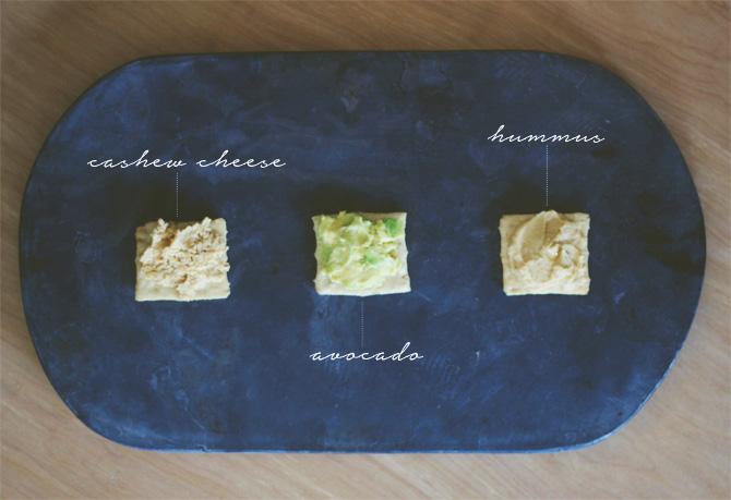 spread 3 ways + cashew cheese | midwestlovefest.com