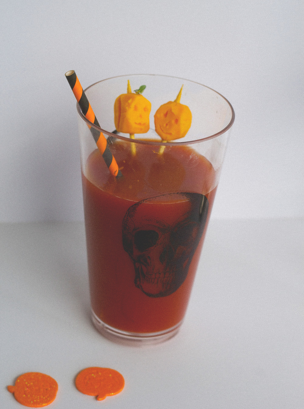 halloween-themed bloody marys