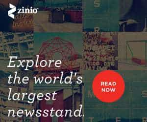 Win a online magazine subscription with Zinio.com