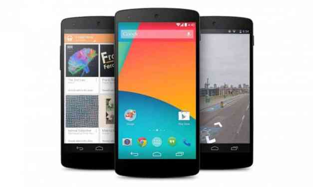 Google Nexus 5 Announced