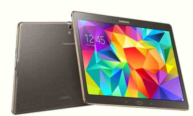 Samsung announces Galaxy Tab S 8.4 &10.5