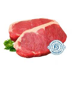 Organic meat in Cairns - sirloin steak