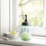 Mason Jars, Soap Dispensers and Short To Do Lists